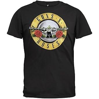 Guns N Roses Classic Bullet Logo T-shirt (Small)