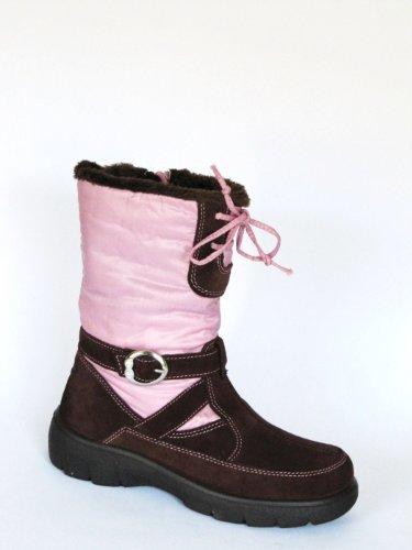 Superfit GoreTex Mädchen Stiefel dunkelbraun pink kaufen