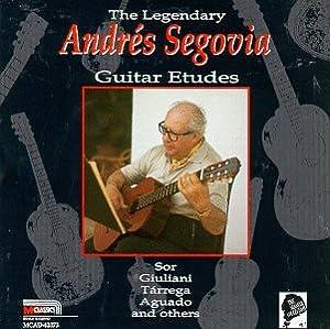 The Segovia Collection, Vol. 7 - Guitar Etudes