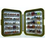 fly box and 50 flies