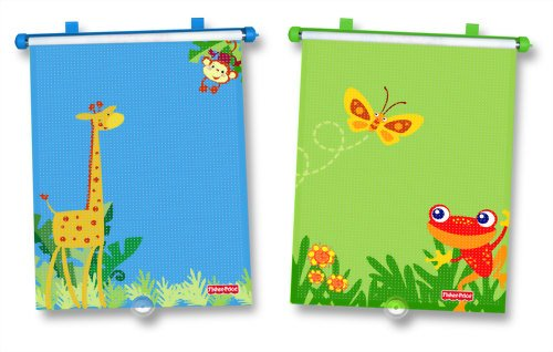 Fisher-Price Rainforest 2-Pack Roller Shades front-328046