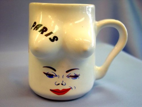 Buy Funny Porcelain White Polish Kiss Coffee Mug