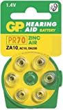 Ukdapper - 1 box 10 cards GP Batteries Zinc Air Hearing Aid Batteries GPZA10-D6 Bulk