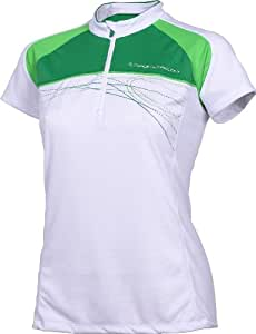 Ziener Damen Funktionsshirt Chrisby Lady Tricot, white.new green, 42, 139114