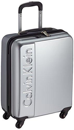 Calvin Klein MANHATTAN_AC3LH114_004_SILVER Trolley, 33 litri, Argento