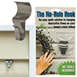 No-Hole Hooks Vinyl Siding Hangers - Low Profile - 2/pk