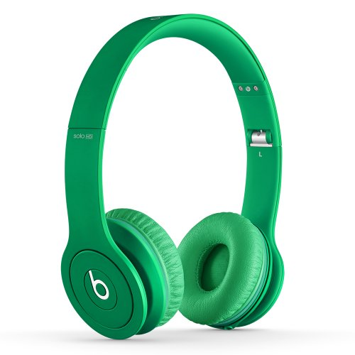 Beats Solo HD On-Ear Headphones (Drenched in Green)