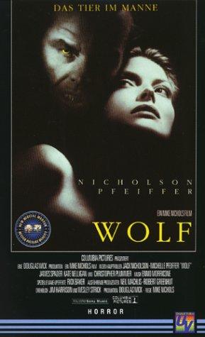 Wolf - Das Tier im Manne [VHS]