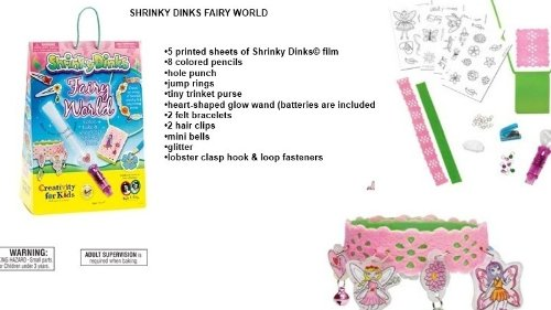 Lets Party By Creativity For Kids Creativity For Kids Shrinky Dinks Fairy World Activity