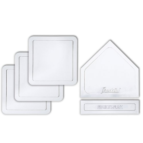 Franklin Sports MLB 5-Piece Rubber Base Set
