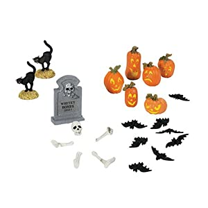 #!Cheap Department 56 Village Halloween Yard Decorations