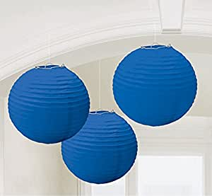 Amscan Royal Blue Paper Lanterns