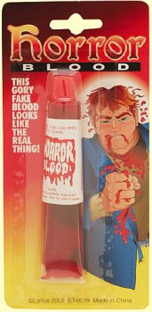 Horror Blood - Gory Fake Blood That Looks Real!