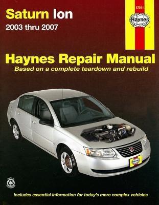 haynes-saturn-ion-2003-thru-2007hayn-saturn-ion-2003-thru-2007paperback