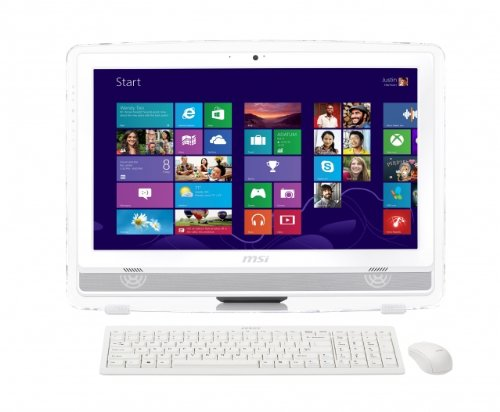 MSI AE2282-013EE 21.5 inch LED Wind Top All-in-One Desktop PC (Intel Core i3-3220 3.3GHz Processor, 4GB DDR3 RAM, 1TB HDD, Touch Screen, USB 3.0, HDMI, Intel HD 2500 Graphics, Wi-Fi, THX TruStudio PRO, Windows 7 Home Premium)