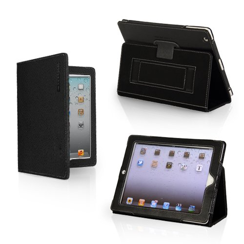 Snugg iPad 3 Case - Leather Case Cover and Flip