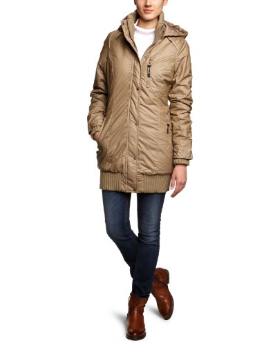 Bench Damen Parka Razzer B, timber