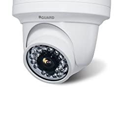 iBall CCTV 960P 1.3MP HD Resolution IP Dome Camera with Day & Night Vision & IR Range upto 20Mtr. with 24 LEDs - iB-IPD132P