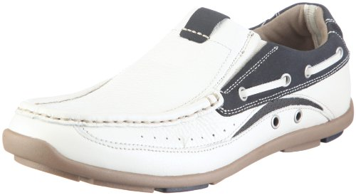 Skechers Men's Elliss Half Shoe White UK 11