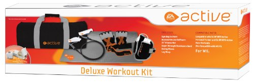 Sakar EA Sports Active Deluxe Workout Kit EA202 - Game console accessory kit