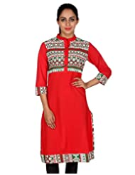 Rajrang Women Ethnic Wear Kurta Tunics Long Kurti Top Size XL - B00RVJOZV8