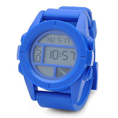 Xinhongbo Sports Wrist Watch With Date / Week Display / Alarm Clock / Stopwatch - Blue