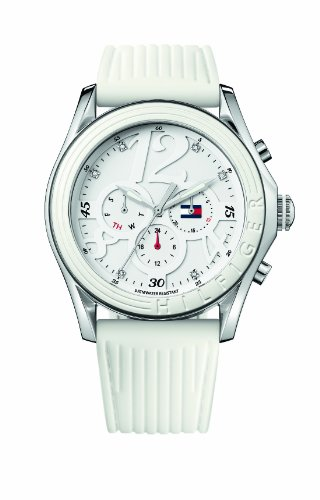 Tommy Hilfiger Analog White Dial Women's Watch - TH1780968/D