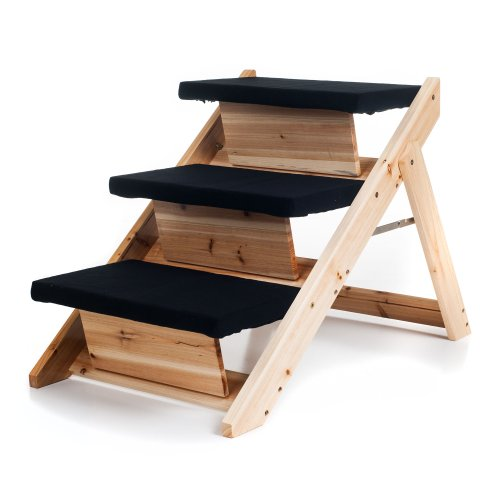 PAW 2-in-1 Foldable Pet Ramp/Stairs for Dogs and Cats Animals Supplies Supplies Steps Ramps