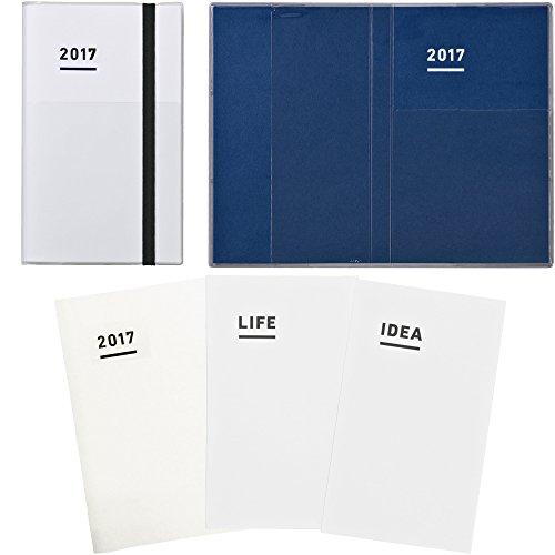 【Amazon.co.jp 限定】 コクヨ ジブン手帳 2017 ファーストキット 11月始まり A5スリム ホワイト ニ-JF1W-17AM