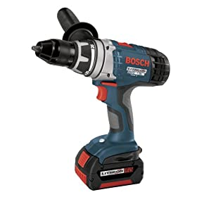 Bosch 37618-01 18-Volt 1/2-Inch Brute Tough Litheon Drill/Driver with 2-Fat Batteries