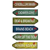 Zombie Zone Directional Arrows Party Accessory