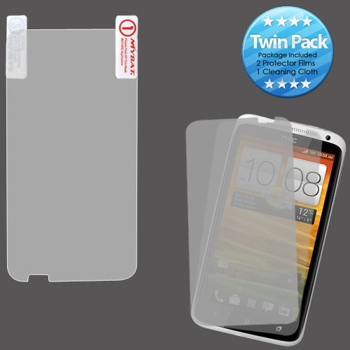 Cell Accessories For Less (Tm) Htc One X+ Screen Protector Twin Pack + Bundle (Stylus & Micro Cleaning Cloth) - By Thetargetbuys