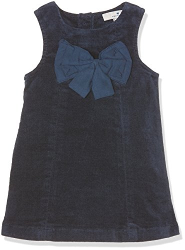 TOM TAILOR Kids cute velvet dress, Vestito Bimbo 0-24, Blu (agate stone blue), 86
