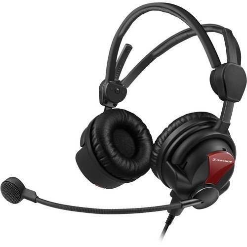 Sennheiser Hmd26-Ii-600-X3K1 Broadcast Headset, 600 Ohm Impedance, Activegard, Dynamic Microphone