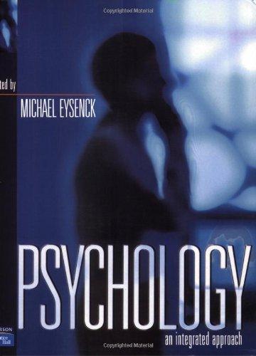 Psychology: An Integrated Approach