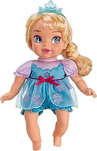 Amazon Com Disney Frozen Deluxe Elsa Baby Doll Toys Amp Games