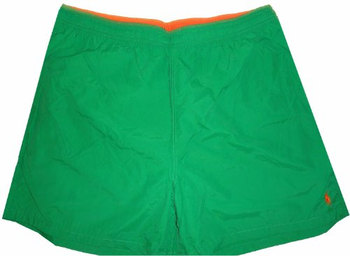 Men's Polo by Ralph Lauren Swimming Trunks Bathing Suit Green (3XB)