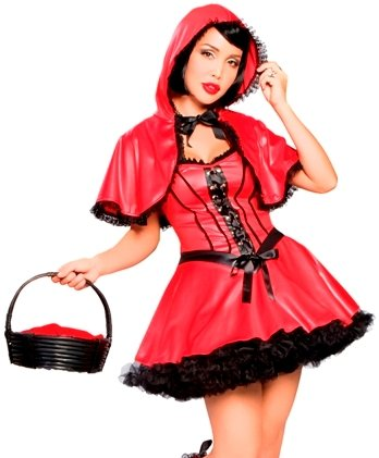 Red Hot Riding Hood - Womens Red Riding Hood Sexy Halloween Costumes
