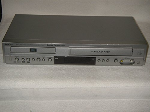 Sanyo DVW7100 TVGuardian DVD player with Built-in 4-HEAD Hi-