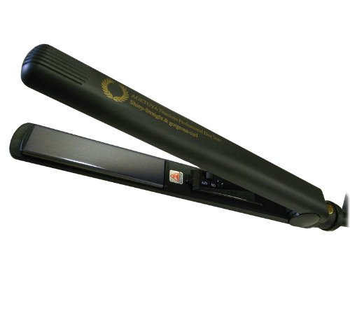 Professional Hair Iron Titanium Plate Gloss Agee Specification <220 ℃ Maximum Temperature> 35 470 [Shiny Straight & Gorgeous Curls]