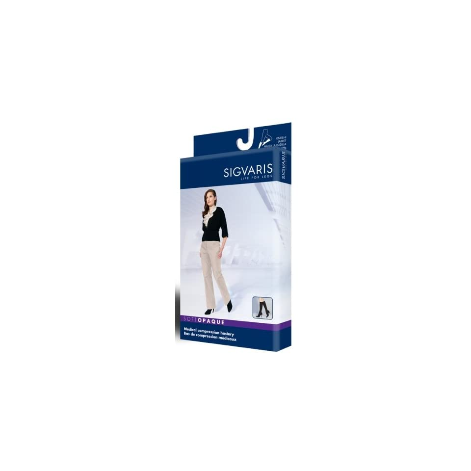edff4da57be Sigvaris 840 Soft Opaque 20 30 mmHg Closed Toe Knee High Compression  Stockings