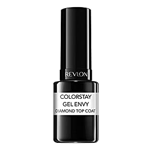 Revlon ColorStay Gel Envy Longwear Nail Enamel, Diamond Top Coat/010, 0.4 Fluid Ounce