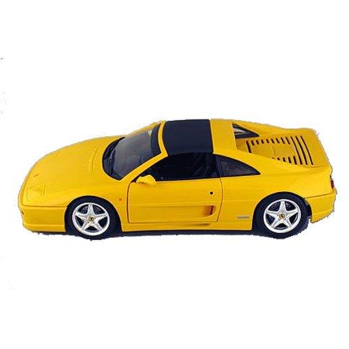 Hot Wheels 1/18 Ferrari 355 Spider Version die-cast yellow