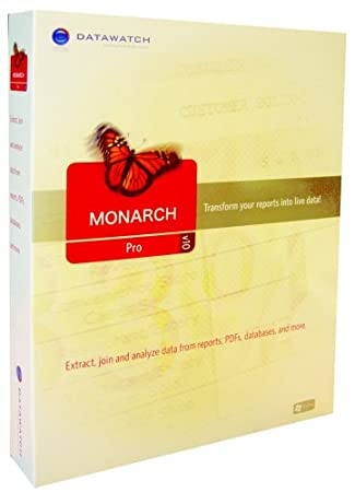 Monarch Pro V10.0 Single User CD [Old Version]