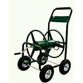 New 300' Heavy Duty Outdoor Garden Water Hose Reel Cart