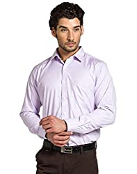 Klub Fox Purple Color Formal Shirt for men