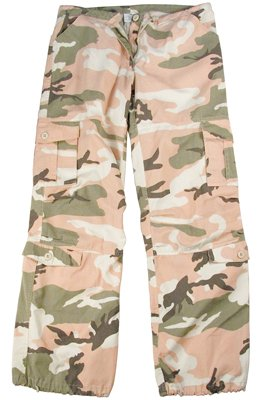3996 SUBDUED PINK CAMO VINTAGE PARATROOPER FATIGUES XXSMALL
