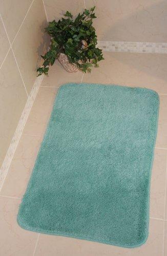 Bolero Duck Egg Blue Bath and Pedestal Bathroom Mats Available 574 - Make your own set
