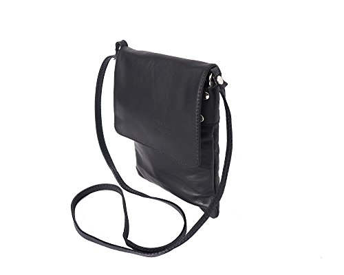 LaGaksta Medium Ashley II Handmade Italian Soft Leather Shoulder Cross Body Bag