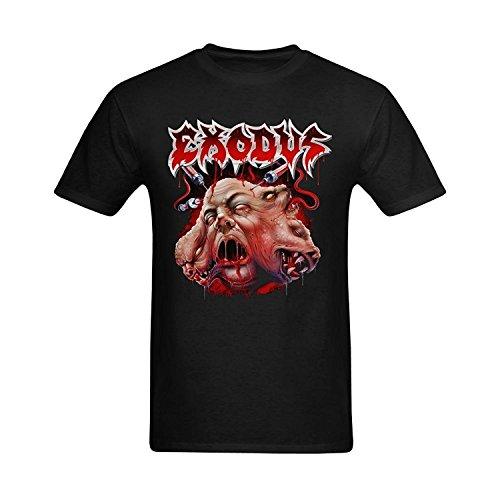 Men's Exodus Thrash Metal Band Art Design T-Shirt